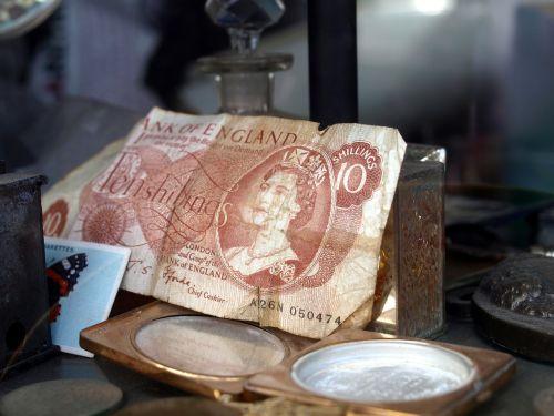 money note antiques