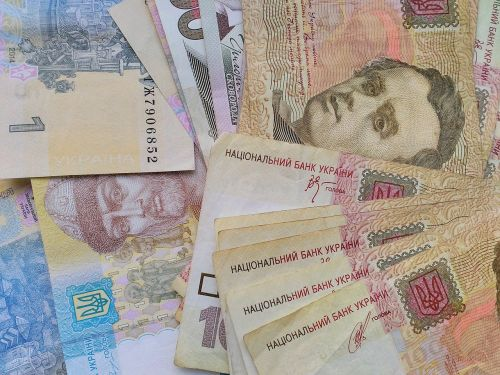 money hryvnia ukrainian hryvnia