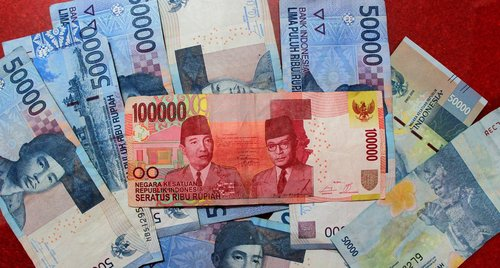 money  rupiah  salary