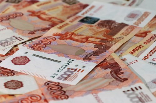 money  ruble  finances