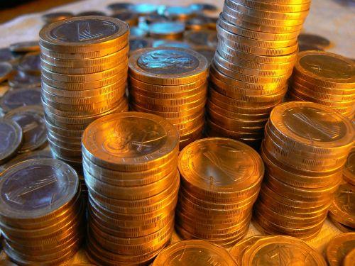 money coins finance