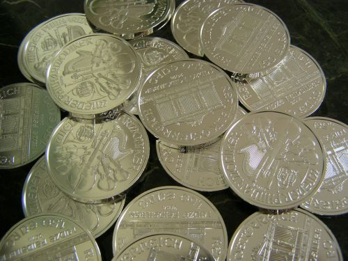 money coins silver