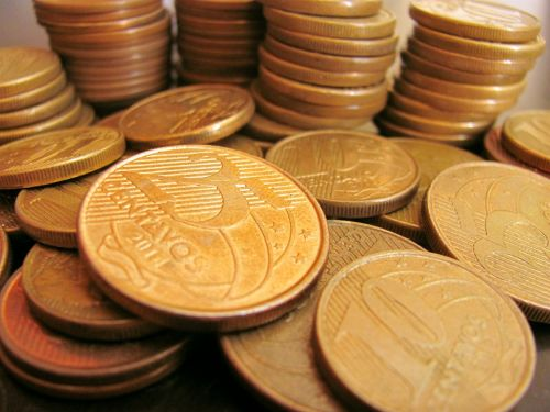 money coins real