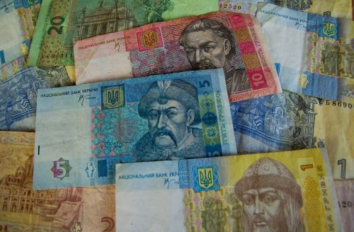 money hryvnia tickets