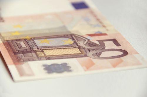 money euro banknote