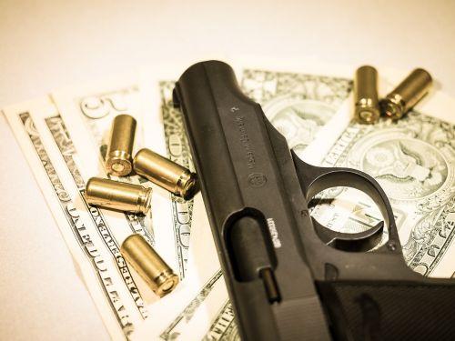 money pistol cartridges