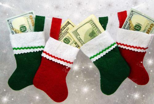 Money Christmas Stockings