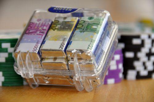 money suitcase money profit