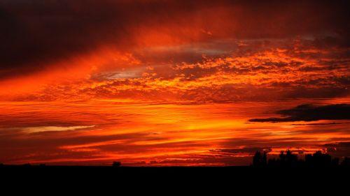 mongolia sunset lighting