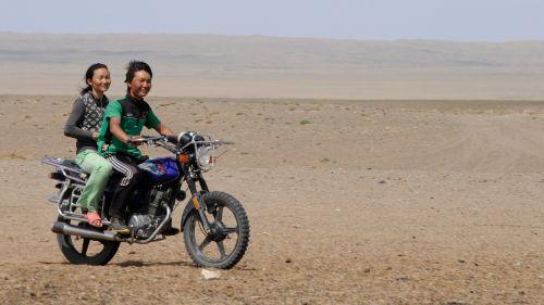 mongolia joy desert