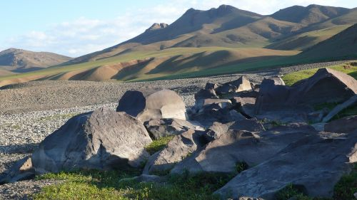 mongolia national park hills