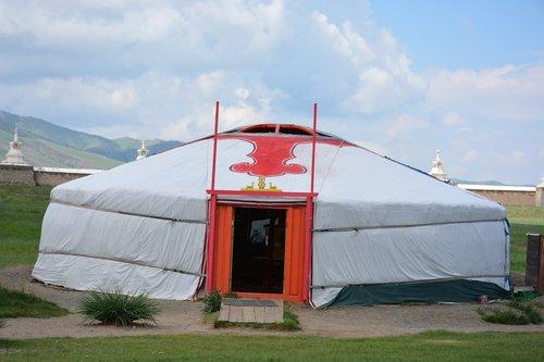 mongolia  yurt  nomads