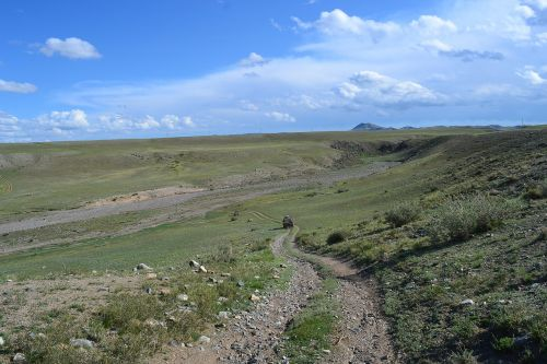 mongolia steppe track