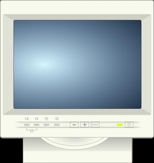 monitor crt tube monitor