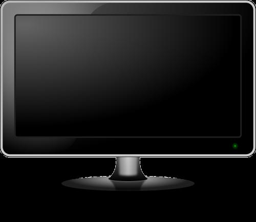 stebėti,tv,televizija,plokščiaekranis ekranas,Plokščias ekranas,LCD,ekranas,šiuolaikiška,išjungti,nemokama vektorinė grafika
