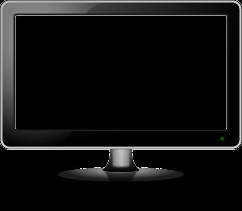 stebėti,tv,televizija,plokščiaekranis ekranas,Plokščias ekranas,LCD,ekranas,šiuolaikiška,on,balta,nemokama vektorinė grafika
