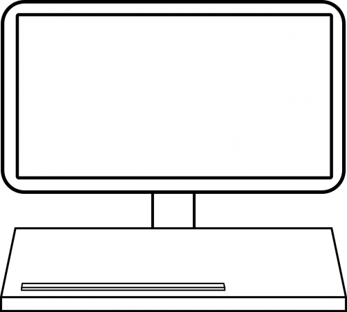 monitor screen blank