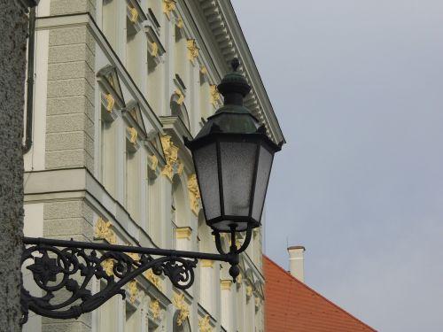 monk bavaria lamppost