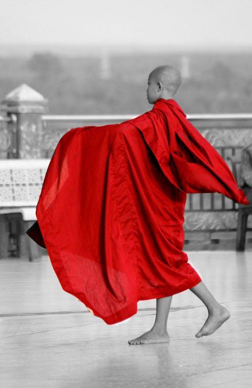 monk burma myanmar