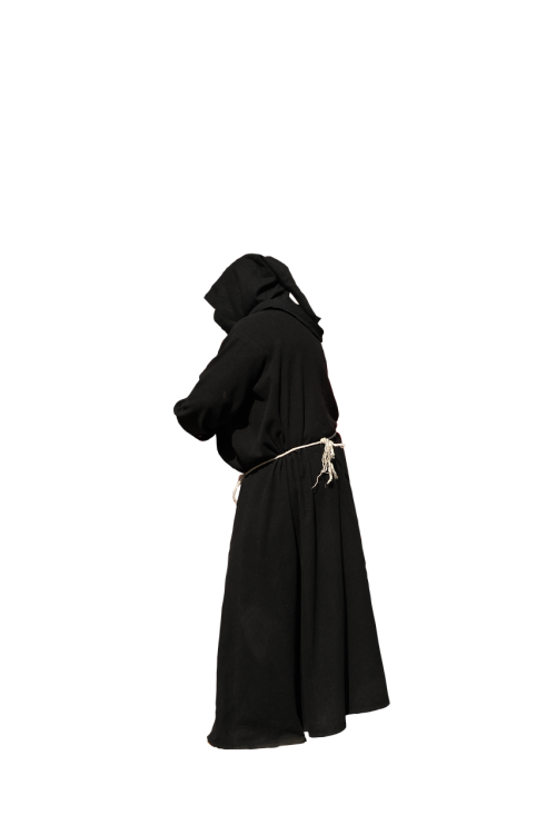 monk habit black