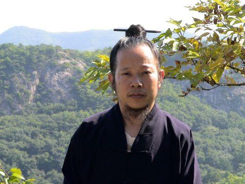 monk portrait chinese