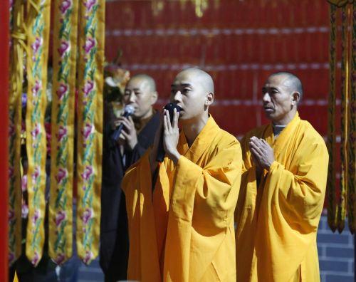 monk monks chanting