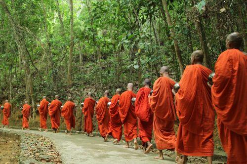 monk buddha religion