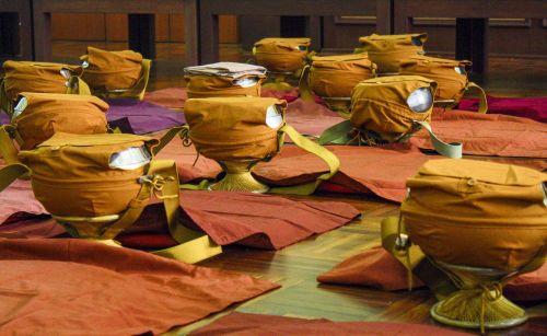 monk bowls ordination religion