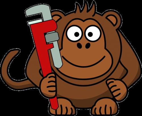 monkey wrench ape
