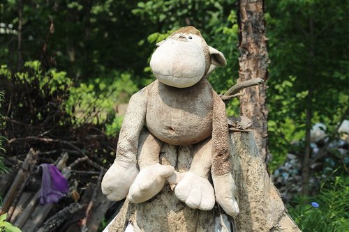 monkey  toy  soft toy