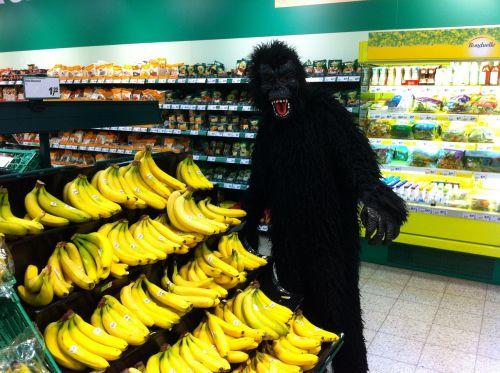 monkey banana costume