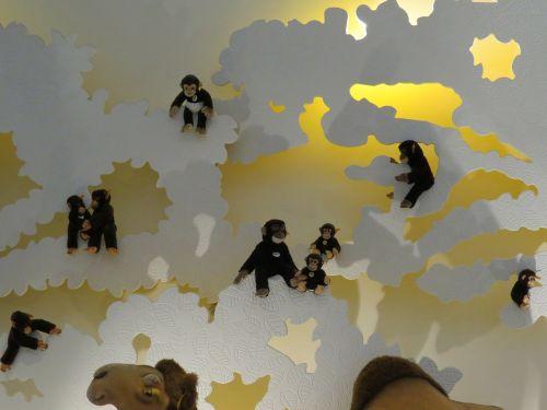 monkey äffchen monkey family