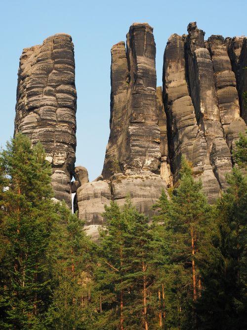 monkey stones the lower monkeys steinweg elbe sandstone