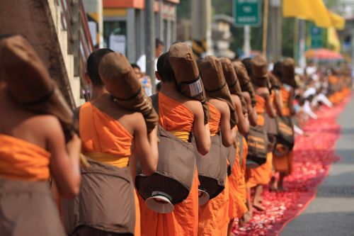 monks buddhists buddhism