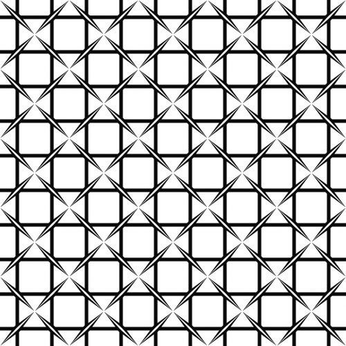 monochrome modern grid