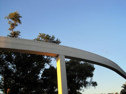 Monorail Over Show Grounds