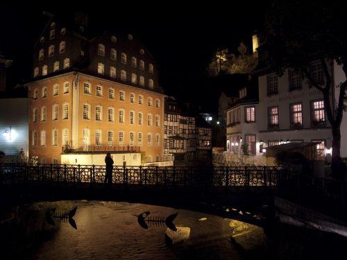 monschau germany night