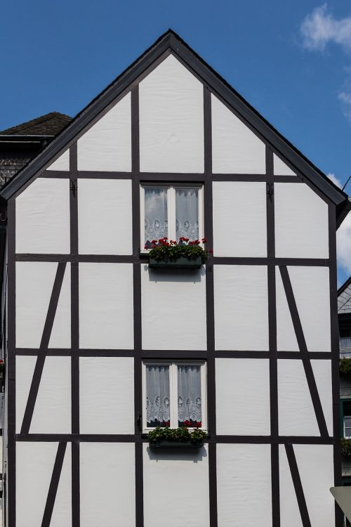 monschau germany half-timbered house
