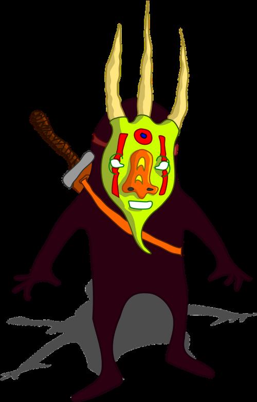monster mask ninja