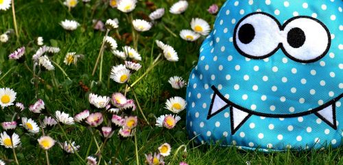 monster fabric meadow
