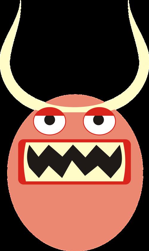 monster mug face