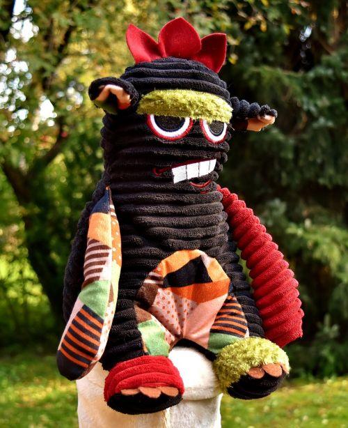 monster soft toy stuffed animal