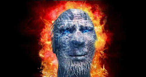 monster horror fire