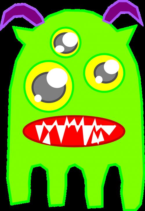 monster alien ghost