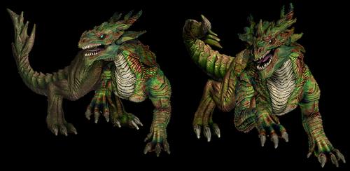 monster  creature  dragon