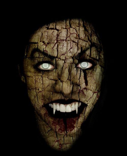 monstras,vampyras,zombiai,baisus veidas