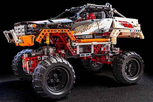 monster truck lego technic technic
