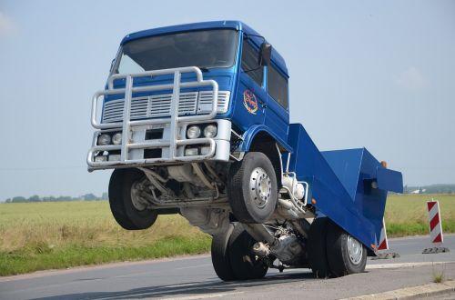 monster truck show blue
