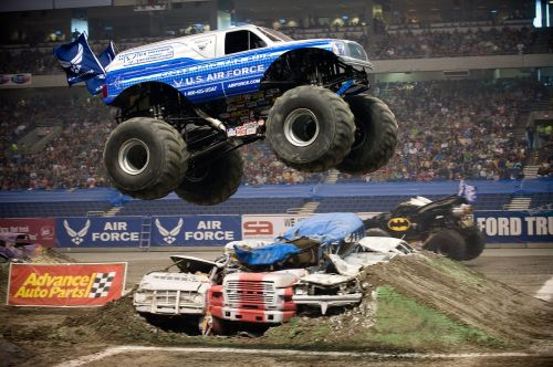 Monster Truck,džemas,ralis,stadiono arena,paroda,transporto priemonė,padangos,ratas,Rodyti,modifikuotas,varzybos,galia,kliūtys