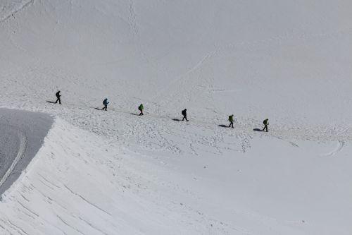 mont blanc mountaineering climbing